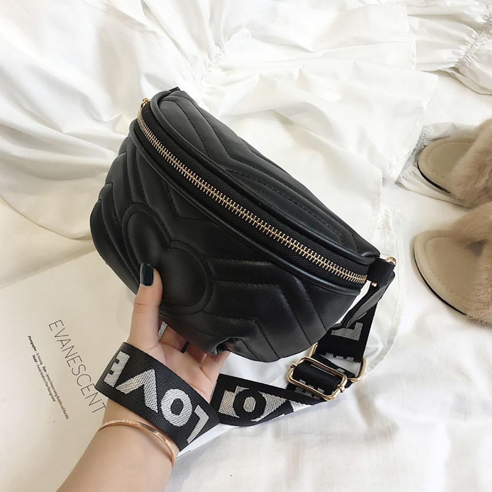 Woman Waist Pack Love Crossbody Shoulder Pocket Fashion Wild Chest Bag Sac Ceinture Femme Belt Bag Women Luxury Nerka Torebka