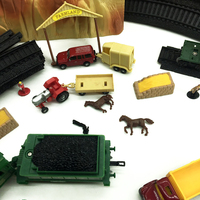 HO Train Model Accessories Kids Toys Scale 1:87 Model Building Layout Good Quality