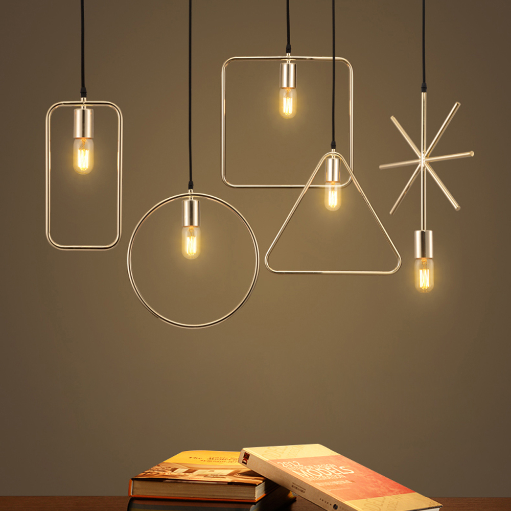 ФОТО led e27 Nordic Simple Iron Designer LED Lamp LED Light Pendant Lights Pendant Lamp pendant light For Dinning Room Bar Store