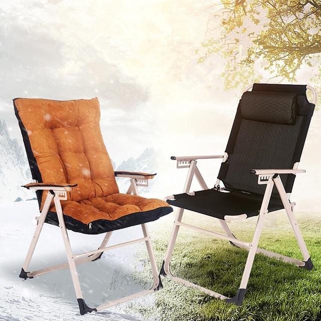 Mode Moderne Sonne Stuhle Freizeit Strand Balkon Liegestuhl Haushalt