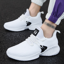 GUDERIAN Breathable Sneakers For Men Krasovki Comfortable Casual Shoes Men Lace-Up Male Shoes Adult Footwear Zapatilla Hombre