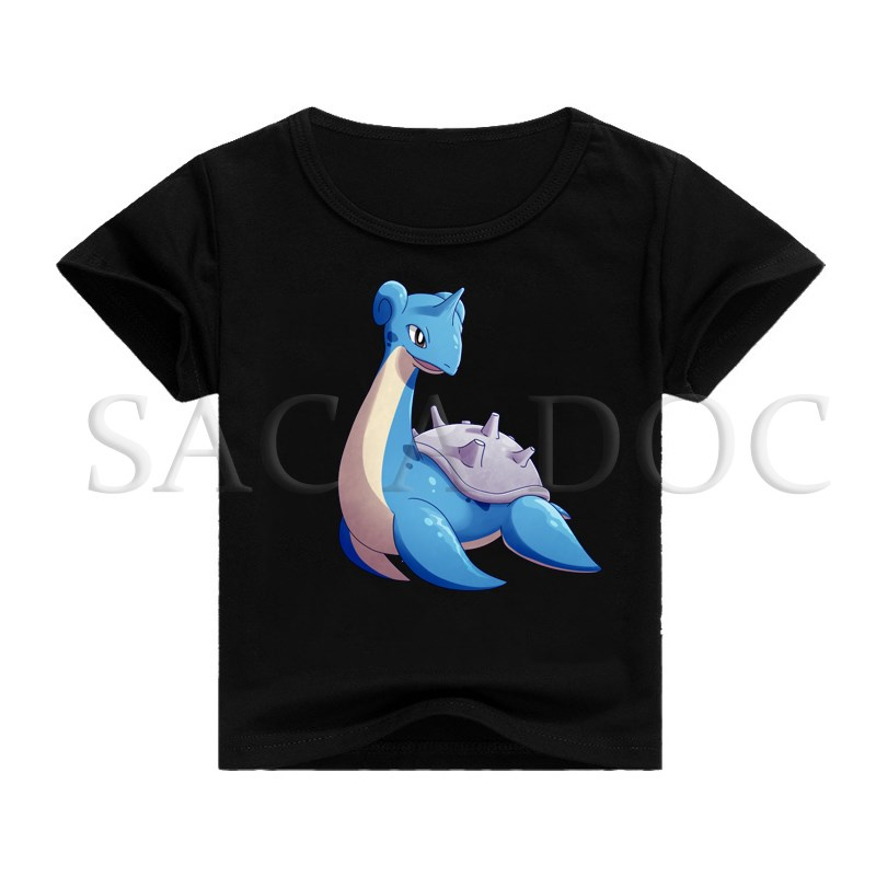 ce2b95735 Kids T Shirt Pokemon Lapras 3D Print T shirt Children Clothing Baby Boys  Girls Hip Hop Tee Shirts Kids Short Sleeve Tee Tops-in T-Shirts from Men's  Clothing ...