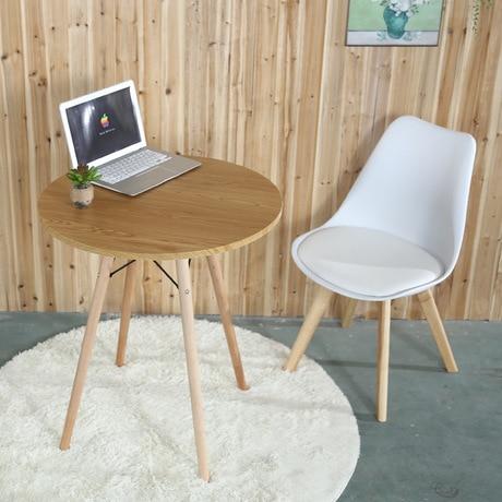 מודרניסטית אוכל שולחנות אוכל חדר ריהוט בית ריהוט מוצק עץ קפה שולחן מינימליסטי EJ-03
