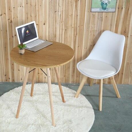 €254.36 8% de DESCUENTO|Mesas de comedor muebles para el hogar mesa de  centro de madera maciza Mesa Redonda moderna minimalista escritorio pequeño  ...