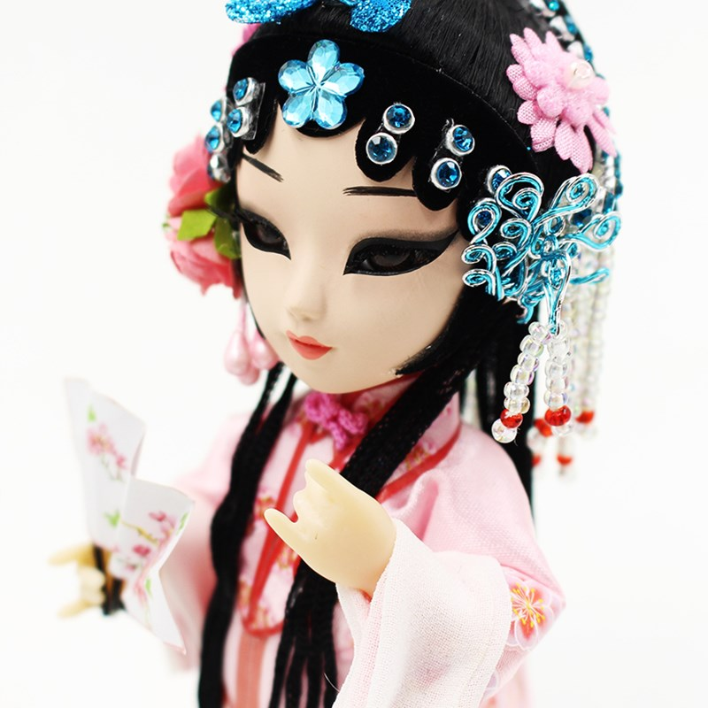 Beijing Opera Dress Up Doll Kunqu Opera dolls Lifelike doll toys Collectibles Decoration China tourism souvenir Li Xiangjun mcintosh tourism – principles practices philosophies 5ed