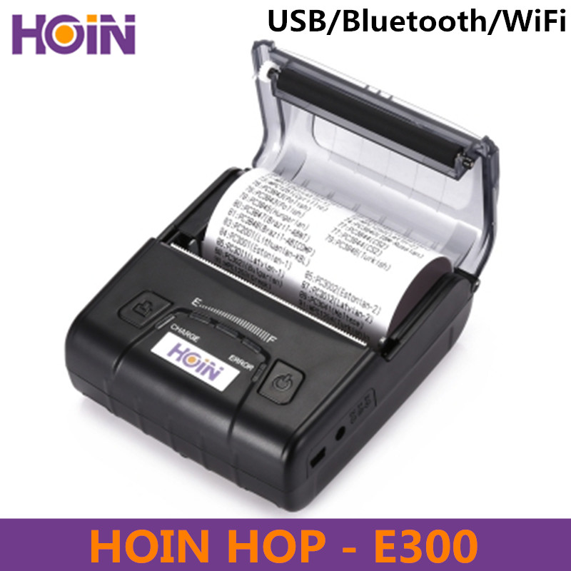 HOIN HOP-E300 Thermal Receipt Printer USB / Bluetooth / WiFi Connection Support Dropshipping