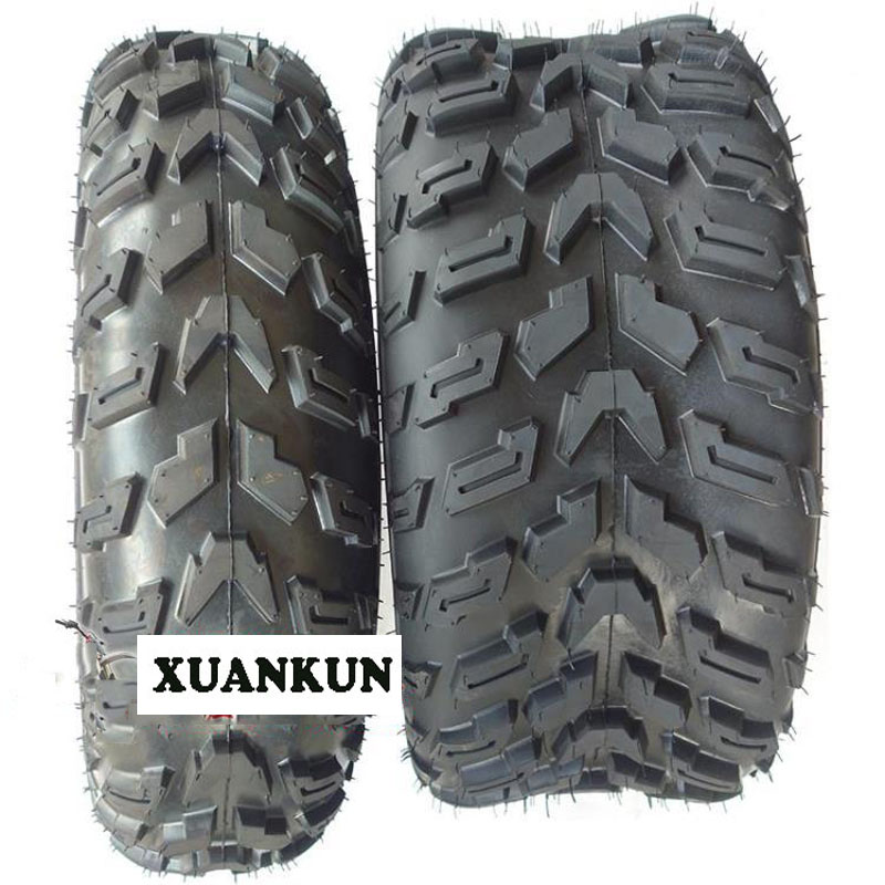 XUANKUN ATV 10-Inch Tires Before 23X7-10 After 22X10-10 Vacuum Wheels Off-Road Tires image