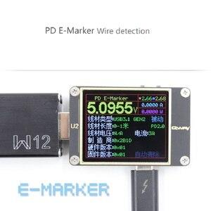Image 2 - Qway U2p التيار والجهد متر USB تستر QC4 + PD3.0 2.0PPS سرعة تهمة بروتوكول السعة