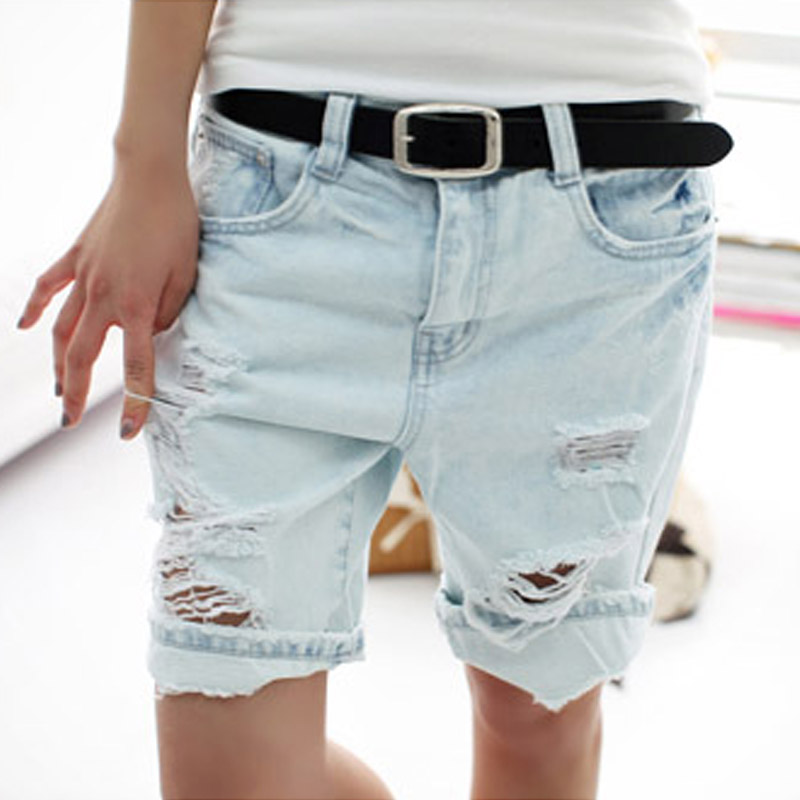 Shorts Women 2016 Fashion Dog Embroiderys
