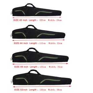 """Image 5 - W nowym stylu miękkie 48 """"40 52 """"44 cal karabin czarny pistolet Case Tactical Gun Bag akcesoria myśliwskie torba kabura Airsoft"""
