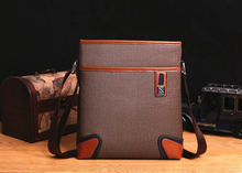 AWEN hot sell promotion soft leather messenger bag for men,classic design men's travel bags,casual mens leather cross body bag
