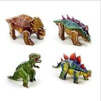 Fly AC Dinosaur 3D Paper Puzzle DIY Simulation Model Children Educational Toys For Children 3D