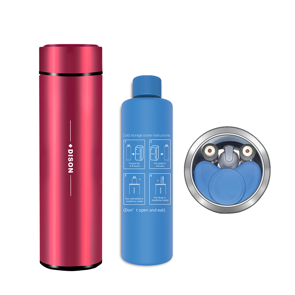 Dison New Insulin Cooler Bag Box Flask Insulin Portable Mini Fridge Insulin Pen Cooler Box Diabetes