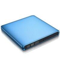Оптический привод USB 3,0 DVD CD RW горелки Писатель portátil внешний Проигрыватель DVD ROM для hp Ноутбук Apple оконные рамы 10