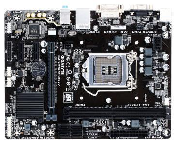 Gigabyte New GA-H110M-DS2V DDR4 LGA1151 motherboard