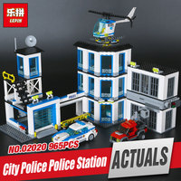 Models Building Toy Compatible With Lego City 60141 965Pcs Police Station Building Blocks Toys Hobbies Birthday