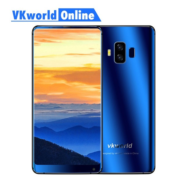 Vkworld S8 5.99 Inch FHD Full Screen 4G Smartphone 5500mAh Face ID 4GB Ram 64GB Rom MTK6750T Octa Core Dual Camera Mobile Phone