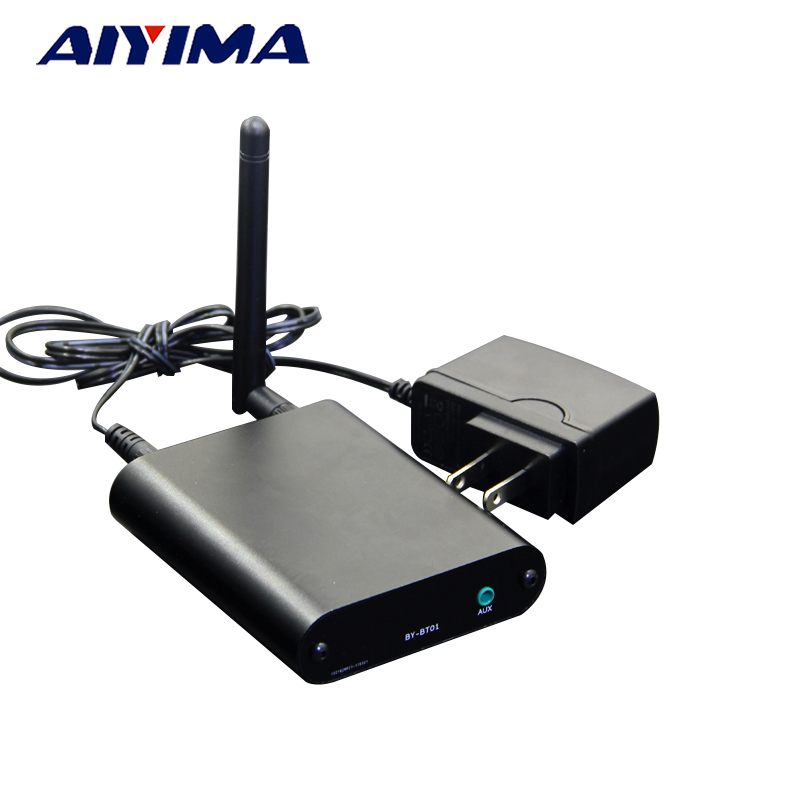 Aiyima HIFI CSR4.1 Bluetooth Audio Receiver Bluetooth To Optical Coaxial AUX Output For DAC Amplifier Board