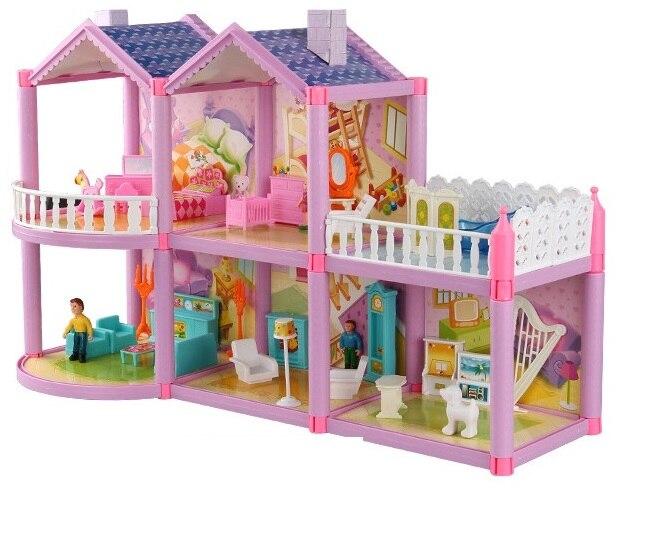 Bricolage maison de poupée meubles Miniature couverture de poussière 3D Miniaturas maison de poupée jouets pour fille enfants cadeaux d'anniversaire chaton journal présent
