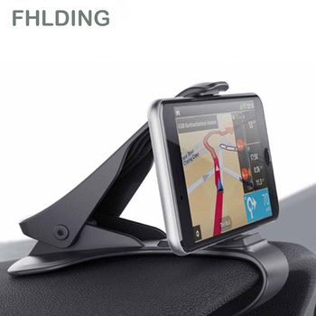 Universal Car Dashboard Phone Holder Car Phone Stand Bracket Adjustable Cell Phone Mount Steady Fixed Holder Phone Stand image
