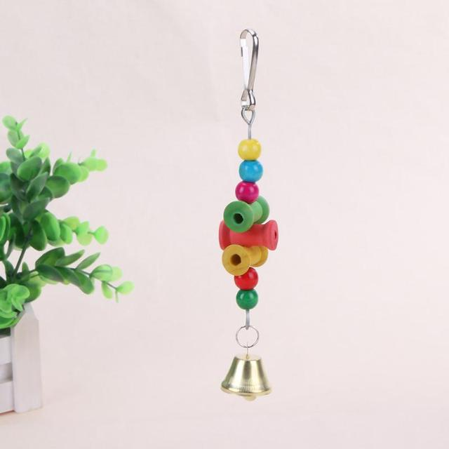 Colorful Parrot Pet Bite Climb Chewing Toy Bird Nest 2