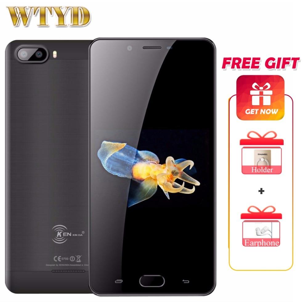 Оригинальный мобильный телефон KEN XIN DA KENXINDA S9 4G, 2 ГБ + 16 ГБ, Android 7,0, четырехъядерный смартфон с двойной тыловой камерой, сотовый телефон 5,5 дюйм...