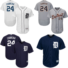 0837a0eaf Men s Detroit Tigers Miguel Cabrera Majestic Alternate Cool Base Player  Jersey(China)