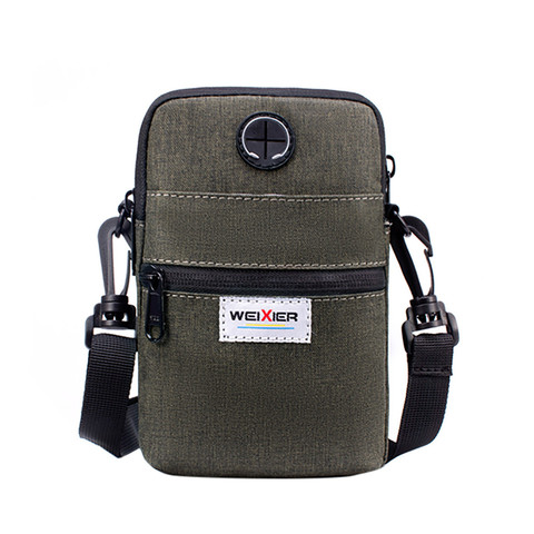 Fashion 2019 Casual Summer Men Diagonal Mini Shoulder Multi-Function Mobile Phone Bag Outdoor Sports Messenger Shoulder Tote Bag Karachi