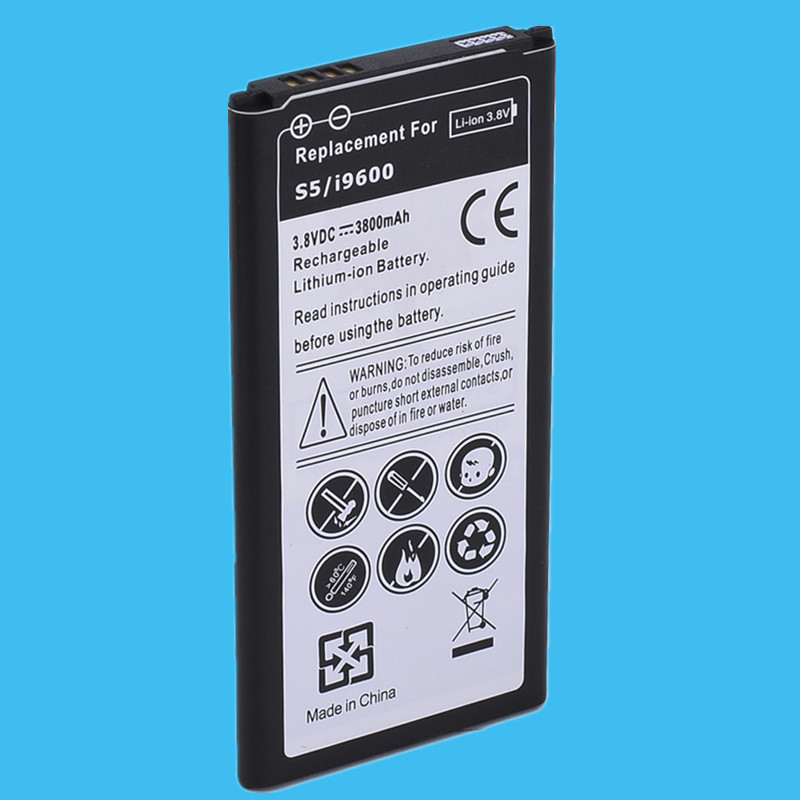 1PC Replacement Battery 3800mah For Samsung Galaxy S5 High Quality