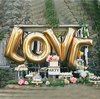 40 Inch Silver Gold Alphabet Letters Balloons Foil Balloon Birthday New Year Party Wedding Decoration Balloon