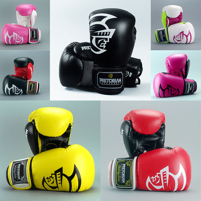 10/12/14/16oz Pretorian Grant Boxing Gloves MMA Gear Taekwondo fight Kick mitts glove Muay Thai Karate Training equipment  цены