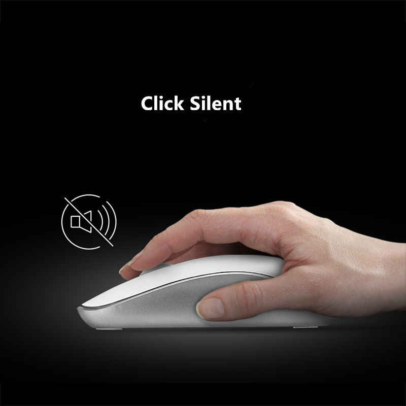 152225433ad ... Original Rapoo Office Silent Wireless Optical Mouse Click Noiseless  Slim Mice 1000 DPI for Mac PC ...