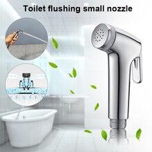 Handheld Bathroom Toilet Sprayer Bidet Flushing Shower Head Compact Nozzle JDH99