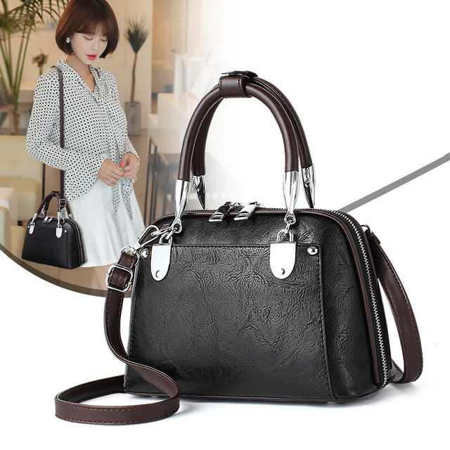 2a24b971067a Luxury Handbags Vintage Casual Tote Bags for Women 2019 NEW High Quality  Leather Women Bags Designer Shoulder Bag Bolsa