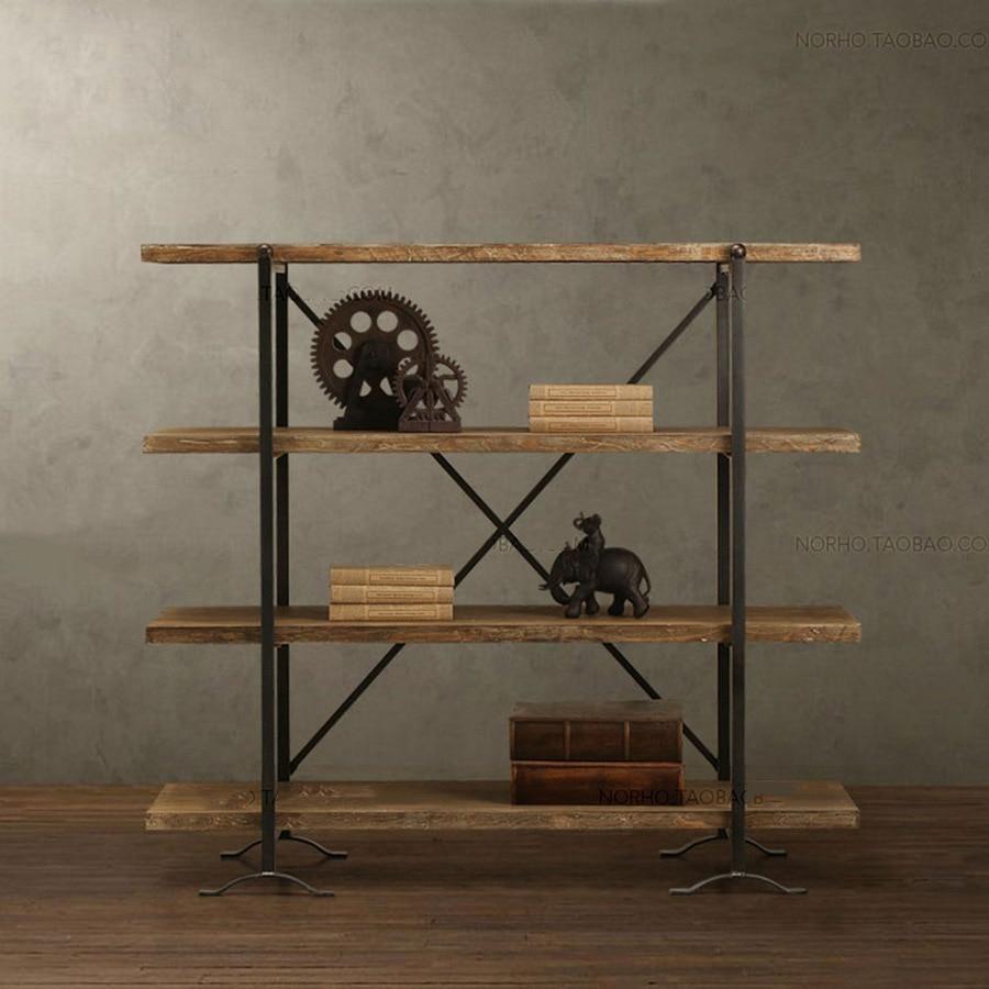 Vintage Wrought Iron Shelf Display Rack Shelf Antique Furniture China