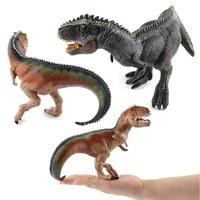 Jurassic Dinosaur Giganotosaurus Plastic Static Dinosaur Toy Set Plastic Play Toys World Park Dinosaur Model Kids Boy Gift