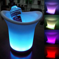 1 PC Food Grade PE plastic luminous LED ice bucket champagne bucket Bar Party Atmosphere Props Fashion 170*220*250MM bar Tools31