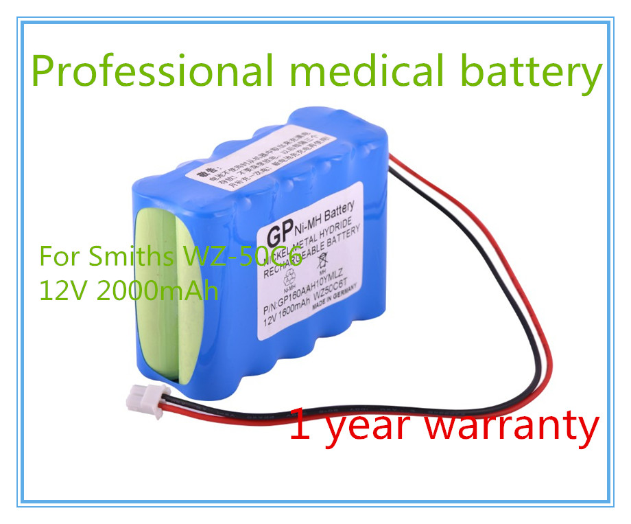 Micro-infusion pump battery For Infusion Pump WZ50C2,WZ50S,WZS50F2,WZ50C66T,WZ-50C6,WZ-50C6T Syringe Pump battery