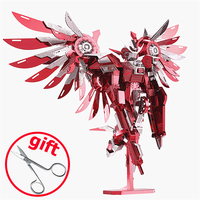 2017 New ICONX 3D Metal Puzzle Toys P069 Piececool Thundering Wings Robot Figure DIY Puzzle 3D