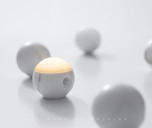 Image 2 - Sothingサニースマートセンサー夜の光の壁ランプ120度赤外線誘導usb充電リムーバブル夜ランプ