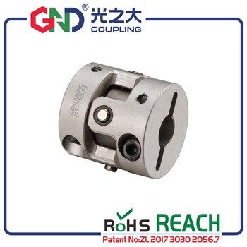 Acoplamento do eixo série universal da braçadeira comum da liga de alumínio gnd para acoplador cnc vibração paralelo acopladores de desalinhamento angular