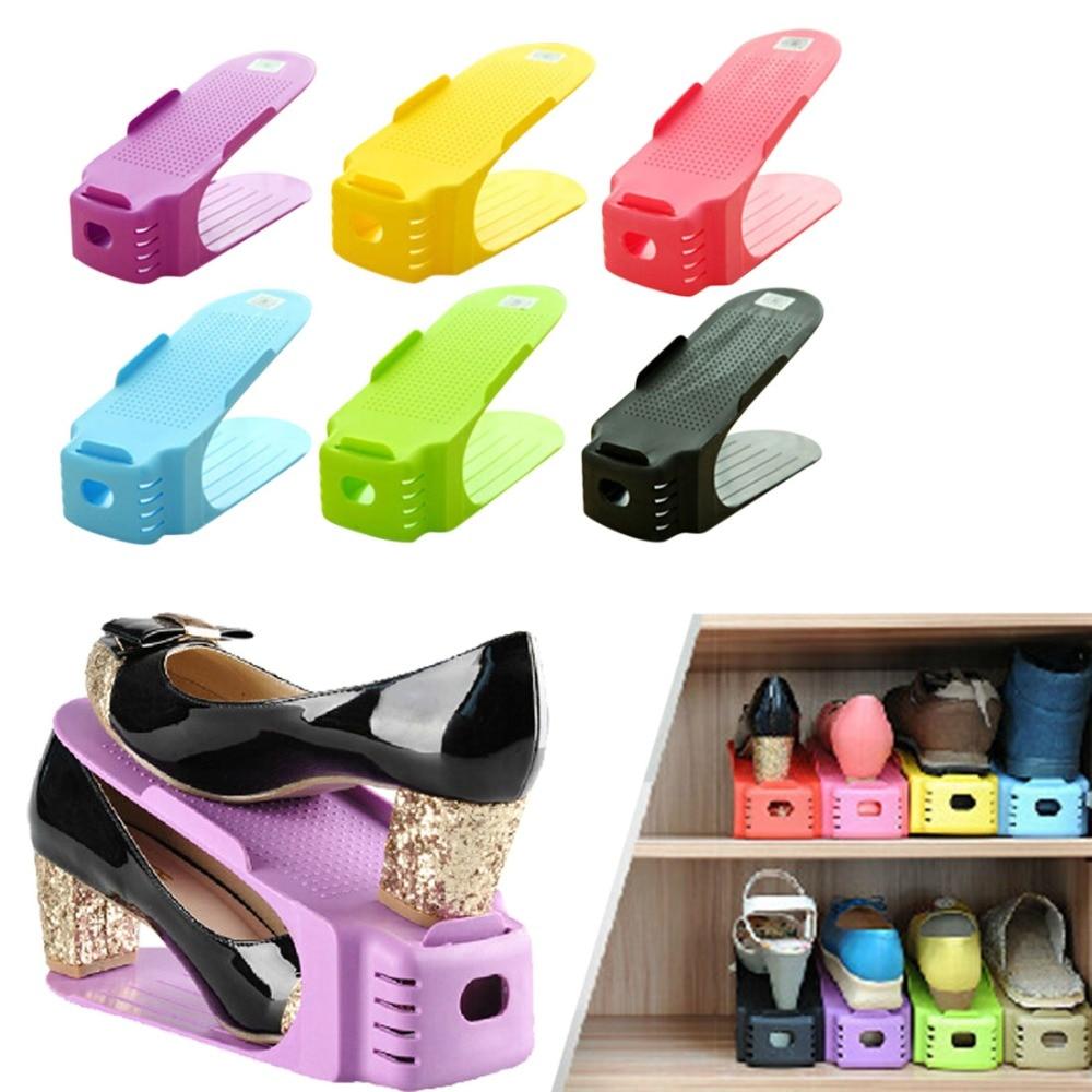 2017 New Popular Shoe Racks Modern Double Cleaning Storage ...
