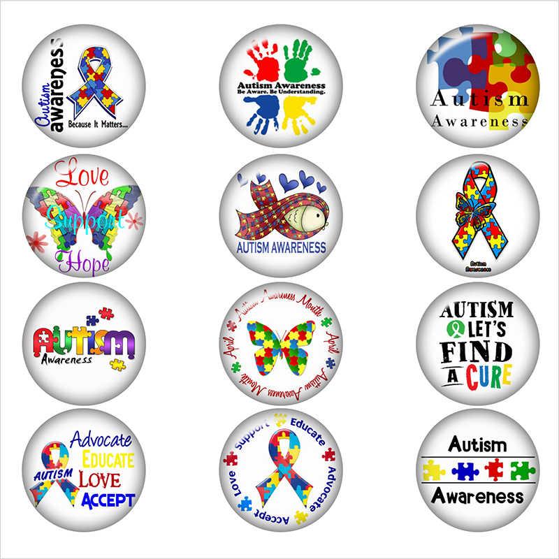 Смешанный набор Медсестра RN LPN EMT NP лента, осведомленность об аутизме, медицинское оповещение, аллергенное стекло, кабошон, стеклянная застежка, ювелирные изделия DIY BP551