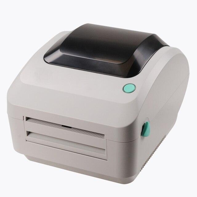 Тепловой билл принтер машина 108 мм ширина печати высокая скорость непосредственно тепловой штрих-код этикетки стикер принтера xprinter usb порт