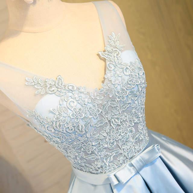 Cute Light Blue Short Homecoming Dresses 2017 Cheap V Neck Lace 8th Grade Prom  Dresses Junior a6a03ada8
