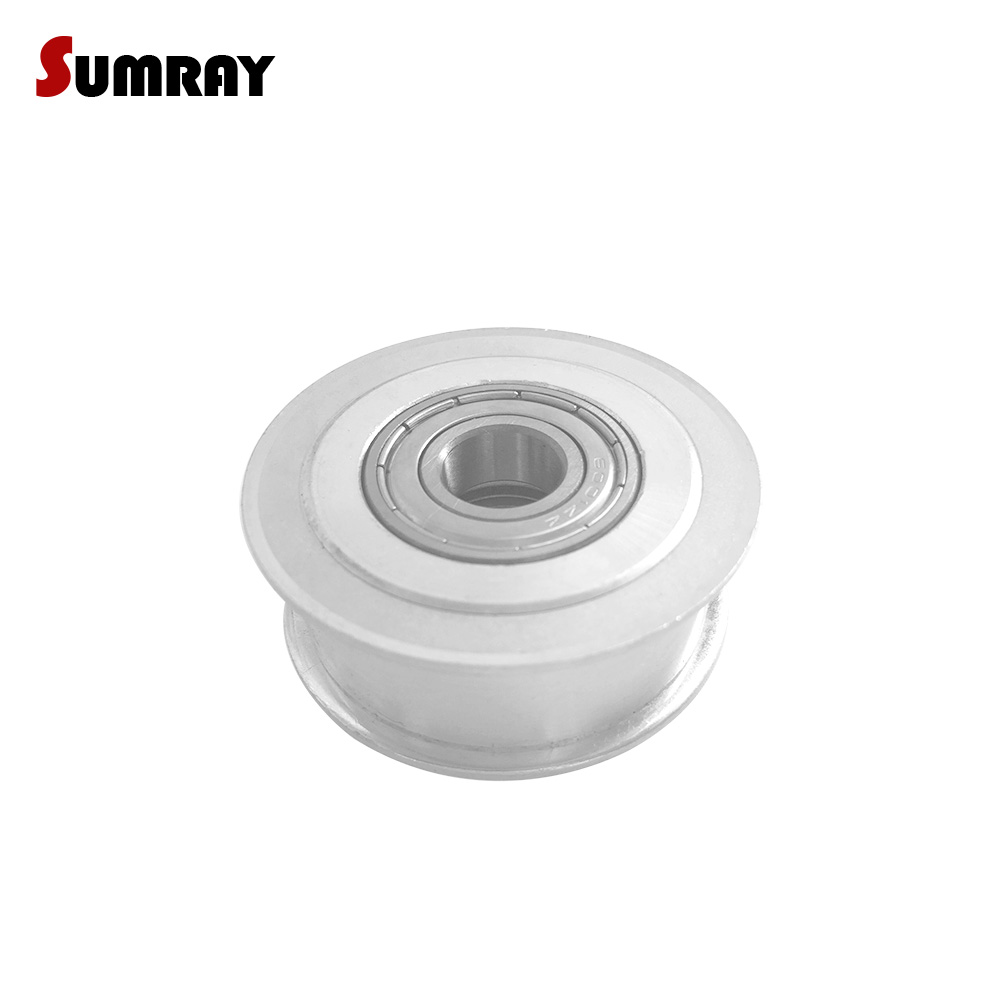 SUMRAY Idler Pulley 3M 30T Bore 5/6/8/10/12/15mm Tension Belt Idler Pulley 11/16mm Belt Width NO Teeth Synchronous Pulley WheelSUMRAY Idler Pulley 3M 30T Bore 5/6/8/10/12/15mm Tension Belt Idler Pulley 11/16mm Belt Width NO Teeth Synchronous Pulley Wheel