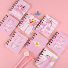 2019 Cute Kawaii Notebook Cartoon Cute Lovely pink girl Diary Planner Memo Pad Notepad for Kids Gift Korean Stationery 16 styles(China)