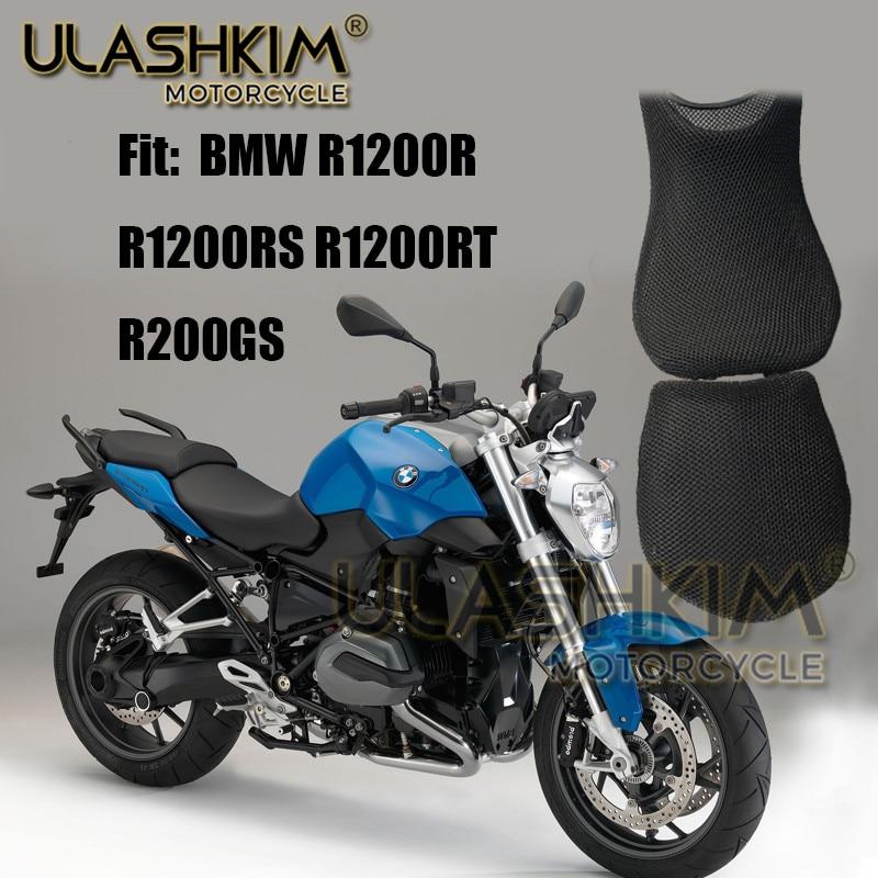 3D 7mm Sunscreen Cushion Cover Modified Seat Cover Heat Insulation Cushion Cover For BMW R1200R R1200RS R1200Rt R1200GS Q
