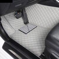 Car floor mats special for Audi A6 S6 C5 C6 C7 Allroad Avant 5D car styling rugs carpet floor liners(1997 present)