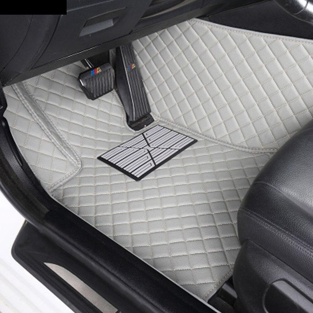 Custom fit auto fußmatten für Audi A6 S6 RS6 C5 C6 C7 limousine Allroad Avant 3D auto styling alle wetter luxus teppiche teppiche liner